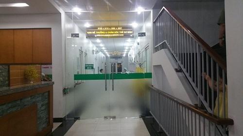 Bệnh viện Tâm Phúc nơi xảy ra vụ việc. Ảnh: Vietnamnet
