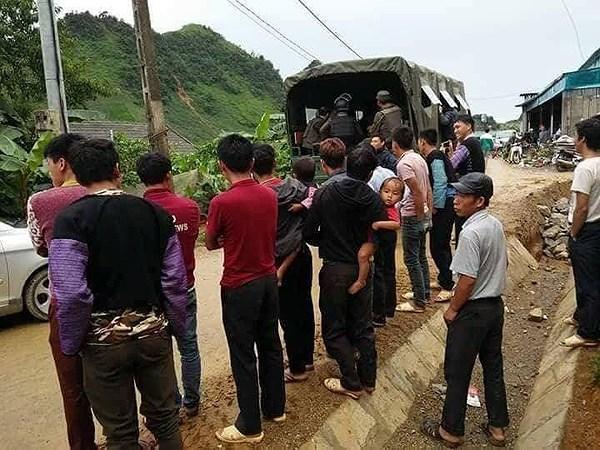 Khoảng 200 CBCS đếntừ nhiều lực lượng cảnh sát phòng chống ma túy, Tiểu đoàn Đặc nhiệm số 1 BTL Cảnh sát cơ động, bộ đội biên phòng và các đơn vị nghiệp vụ đã tham gia trận đánh