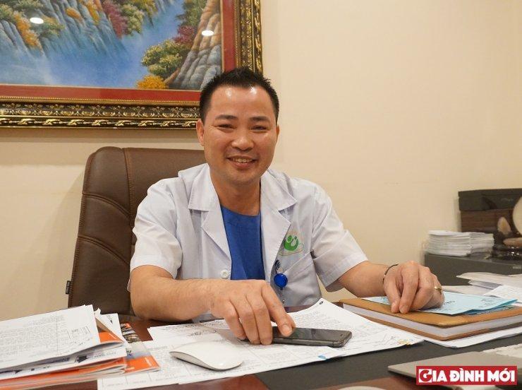 ThS.BS Mai Trọng Hưng, Phó giám đốc Bệnh viện Phụ sản Hà Nội