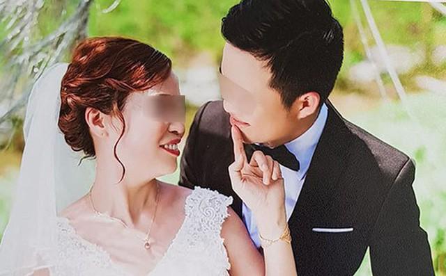 Ảnh chị Sao và chồng sắp cưới. Ảnh: Facebook.