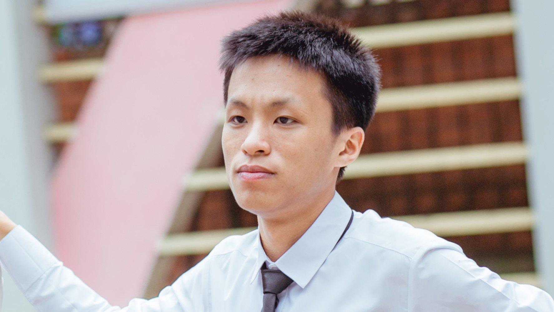 Vương Xuân Hoàng (tỉnh Bắc Ninh) trở thành thí sinh có tổng điểm 3 môn khối A cao nhất cả nước với 29,05 điểm.
