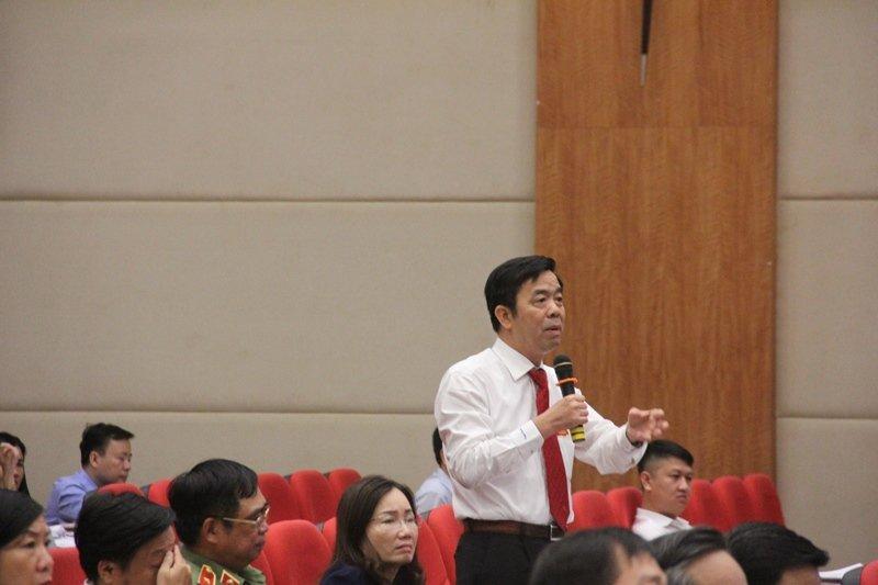 Ông Phạm Văn Thức, Hiệu trưởng Trường ĐHYDược Hải Phòng mong muốn du lịch HP sớm phát triển