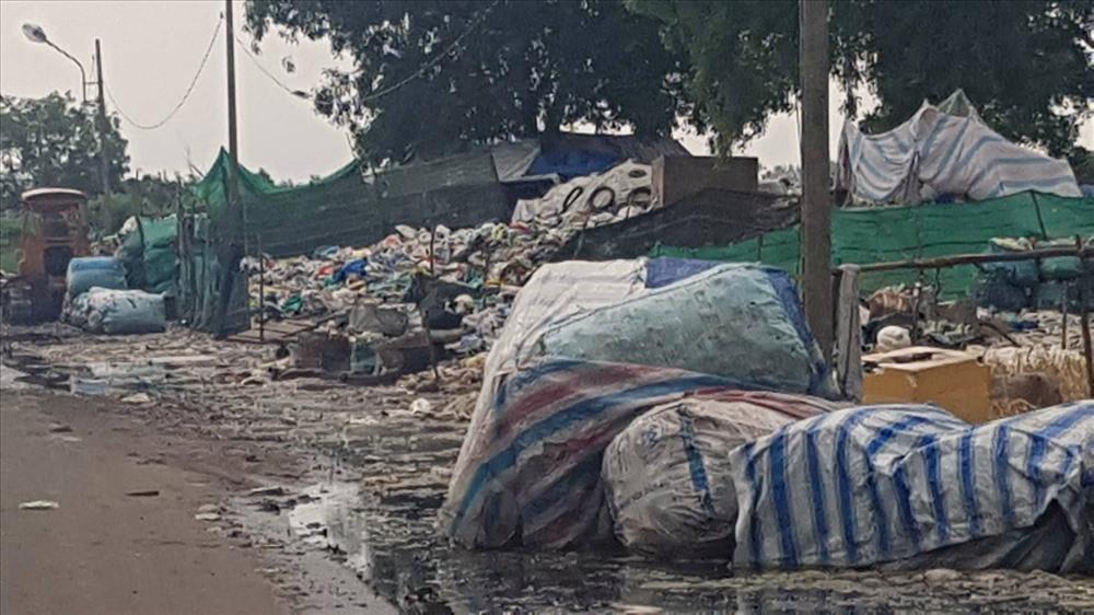 Ô nhiễm môi trường tại bãi rác Bạc Liêu. Ảnh: Nhật Hồ