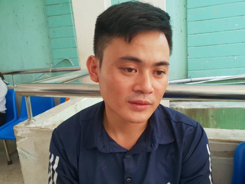 Anh Dương Chí Linh thoát nạn vì đi xe sau, nhưng lại mất 3 người thân 1 lúc là mẹ vợ; vợ; em vợ; chú vợ và con gái đang nằm mổ ở bệnh viện.