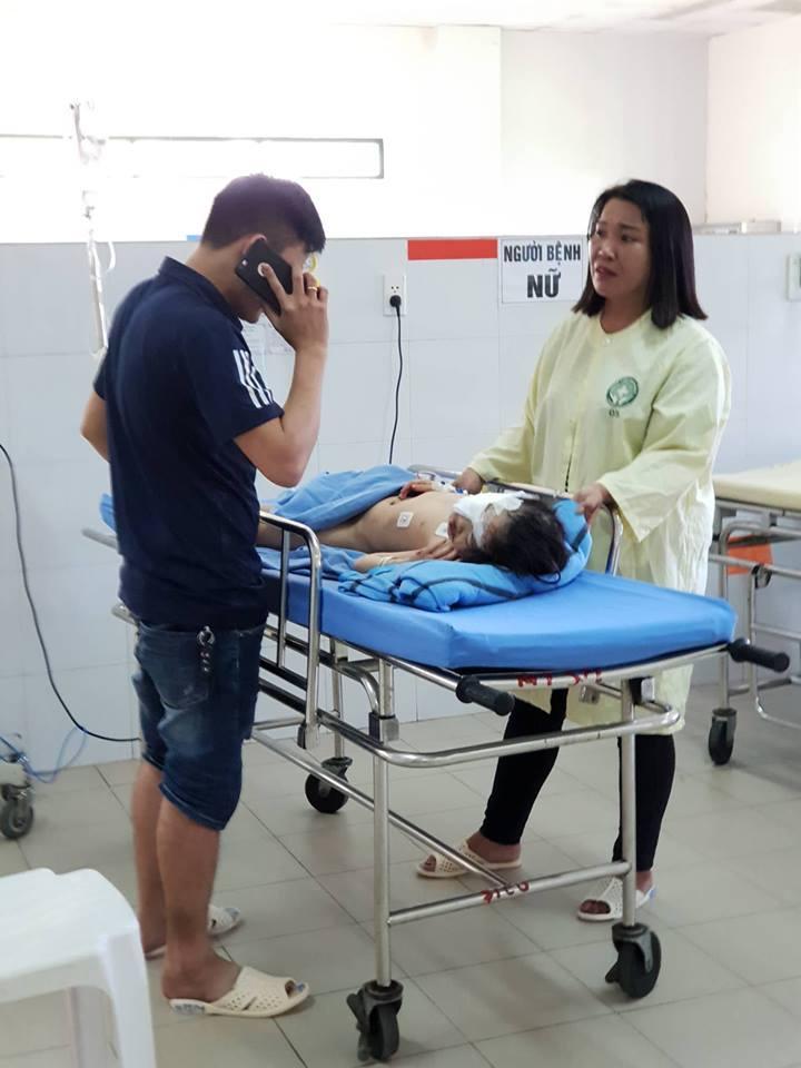 Con gái 6 tuổi của anh Dương Chí Linh vừa được phẫu thuật