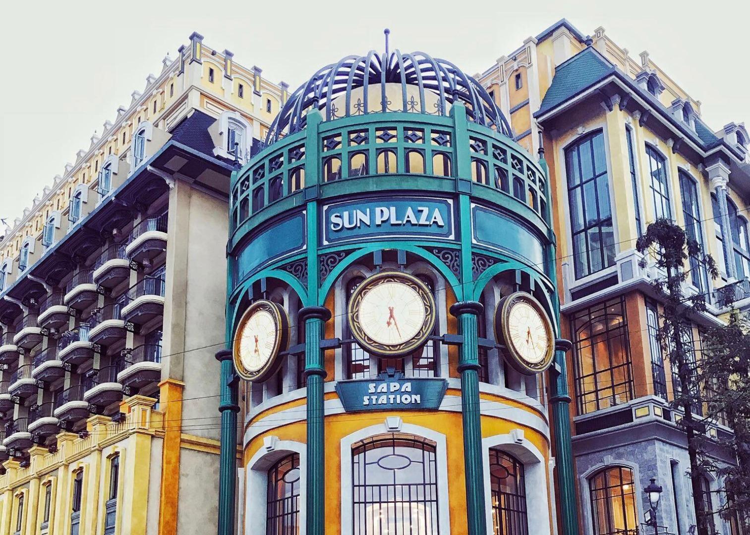Đến Sapa check in cực chất với tòa nhà Sun Plaza tựa như đường phố châu Âu