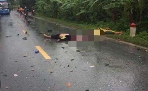 Hai nạn nhân tử vong tại chỗ