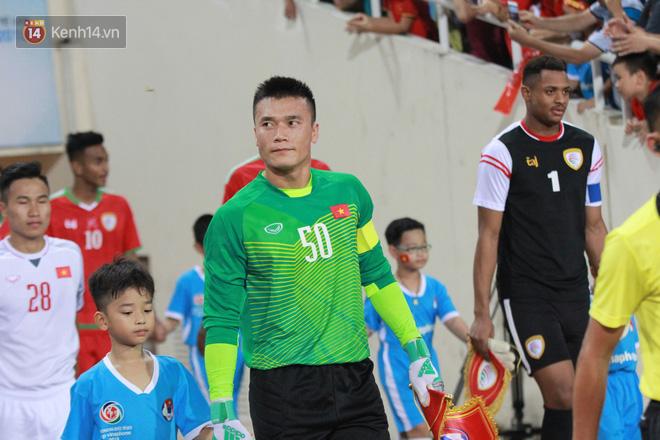 Sau trận ra quân gặp U23 Palestine không có tên trong danh sách đăng ký thi đấu, Bùi Tiến Dũng được HLV Park Hang Seo tin tưởng, trao cơ hội đá chính ở trận đấu giữa U23 Việt Nam và U23 Oman.
