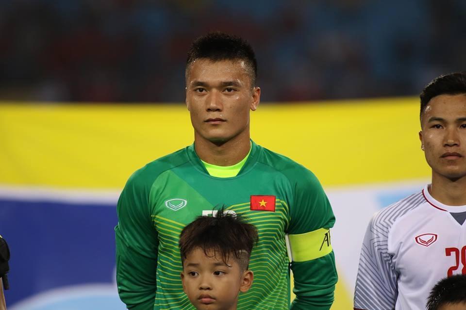 Các cầu thủ U23 Việt Nam khá bất ngờ khi Tiến Dũng là đội trưởng