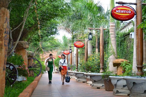 Thiên đường cafe Mehyco trong lành, thoáng đãng. (Nguồn: we25.vn)