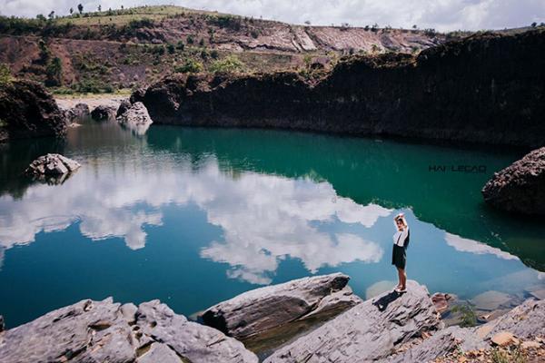 Một góc ở hồ đá xanh. (Nguồn: Hailecao.Photographer)
