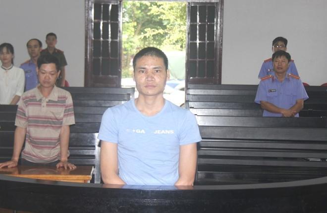 Bị cáo Mạnh tại phiên tòa xét xử