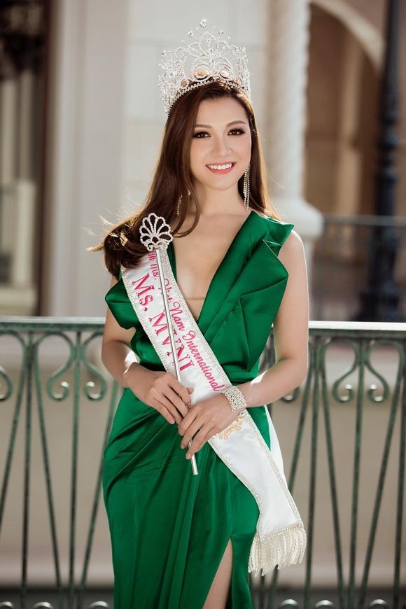 Hoa hậu Phụ nữ người Việt quốc tế 2017 - Thái Nhiên Phương