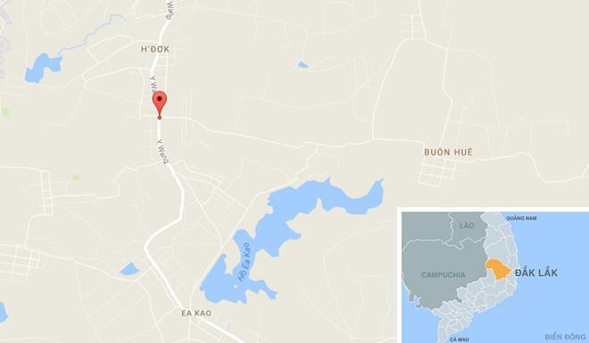 Khu vực xảy ra sự việc. Ảnh: Google Maps.