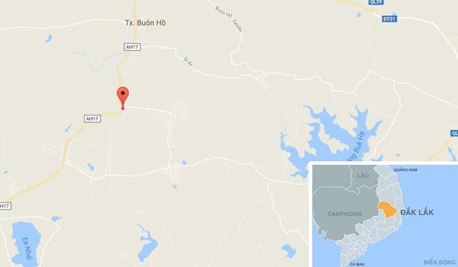 Khu vực xảy ra vụ tai nạn. Ảnh: Google Maps.