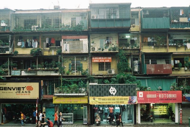 Nhà tập thể ở Hà Nội (Ảnh: Huong Chi / Flickr)