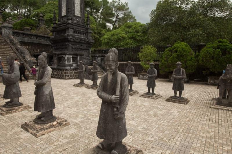 Lăng Khải Định, cố đô Huế (Ảnh: Chris Hoare / Flickr)