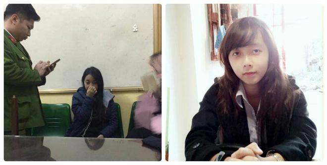 Cô gái lừa đảo mới bị bắt (bên trái) có nét hao hao giống nên bạn bè nhắn hỏi có phải đó là Hương Sen (bên phải) không.