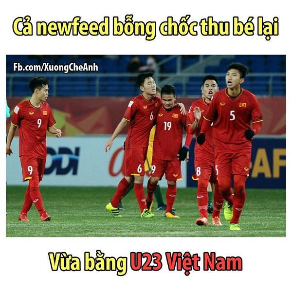 Sau đêm qua, Facebook Việt Nam tràn ngập status, ảnh về U23.