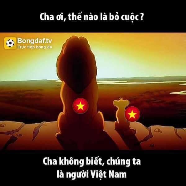 Là người Việt Nam, quyết không bỏ cuộc!
