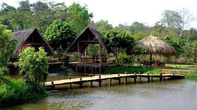 Cảnh đẹp ở buôn Ako Dhong (ẢNH Sưu tầm)