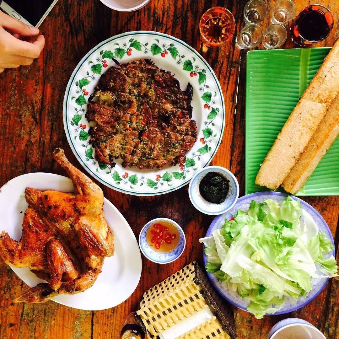 Những món ăn giản đơn nhưng toát lên sự ấm áp nghĩa tình của người Tây Nguyên. (Ảnh: trungchivas)
