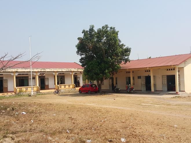 Phân hiệu Trường Tiểu học Nguyễn Du, nơi thầy Hà công tác và xảy ra sự việc