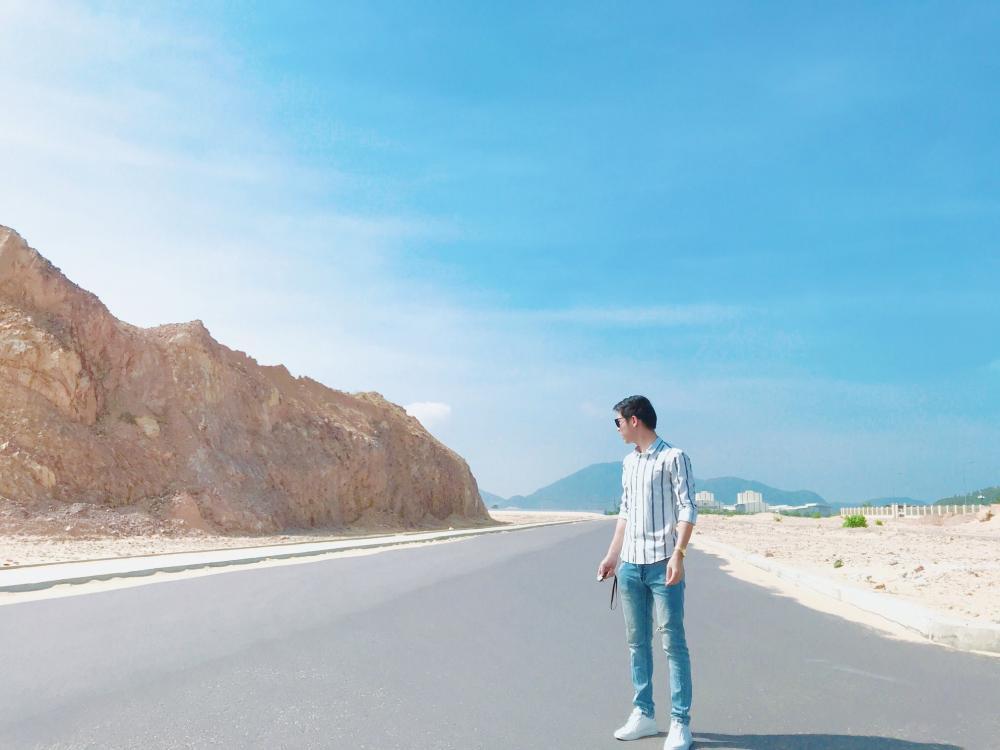 Cung đường đi Kỳ Co rất đẹp.