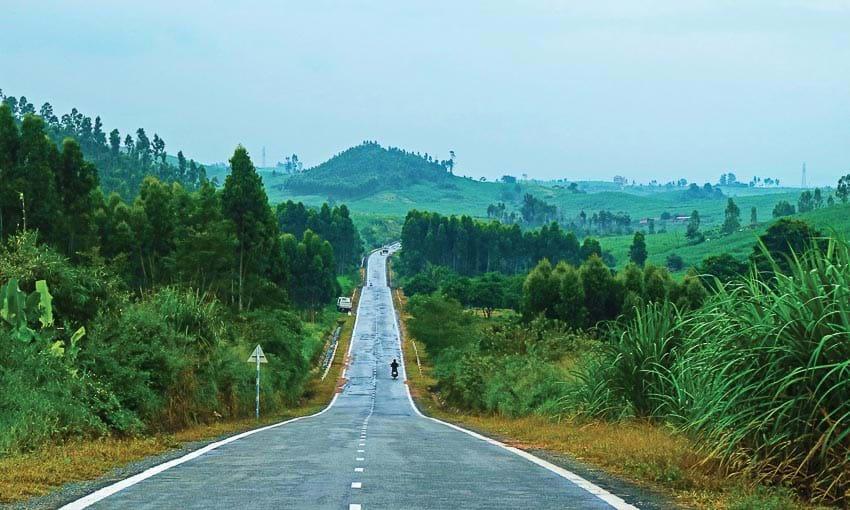 Cung đường đẹp như mơ nối giữa tỉnh Gia Lai và Bình Định
