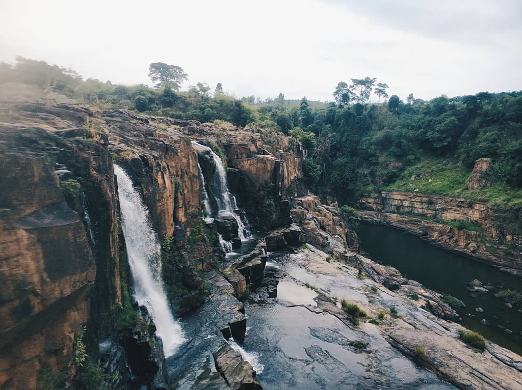 Không chỉ thu hút các bạn trẻ Việt Nam, thác Pongour còn là một điểm đến lý tưởng của du khách nước ngoài. Ảnh: @paultupik, @willfare, @minhchau.arc, @ann.zr.