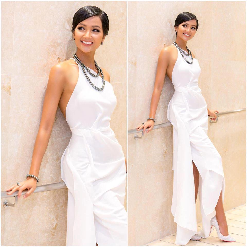 Trong một cuộc khảo sát do tổ chức Hoa hậu Hoàn vũ Việt Nam thực hiện hồi cuối tháng 3 năm nay, 68% khán giả cho rằng H