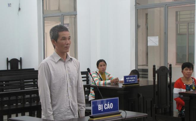 Bi cáo Trần Ngọc Quân tại tòa.