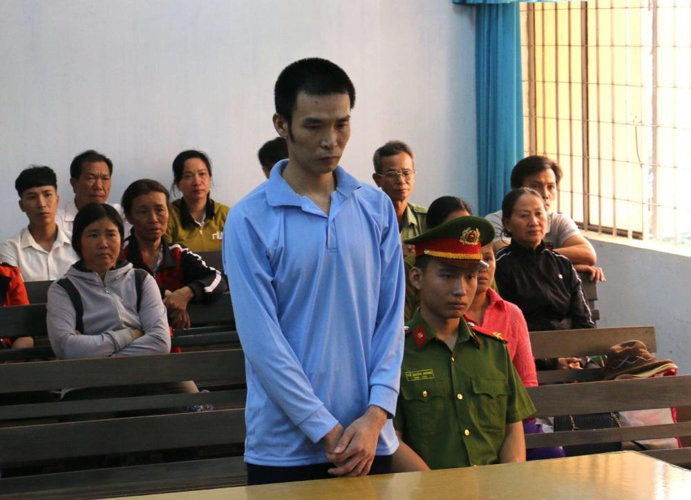 Bị cáo Bùi Khắc Đại tại phiên toà
