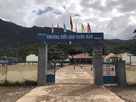 Trường Tiểu học Yang Hăn nơi xảy ra sai phạm trong công tác chi tiền hỗ trợ học sinh nghèo