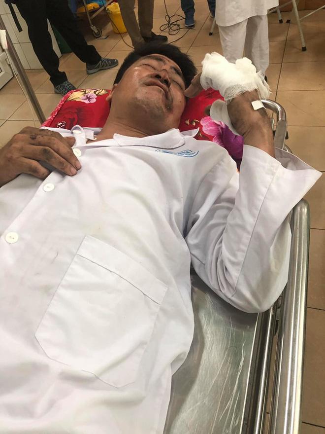 Anh May đang điều trị tại bệnh viện.