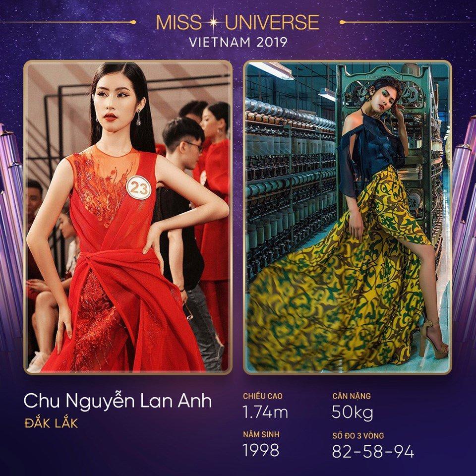 Đắk Lắk cũng là quê hương của người đẹp Chu Nguyễn Lan Anh. Cô sở hữu chiều cao 1m74 ấn tượng và số đo ba vòng cân đối.