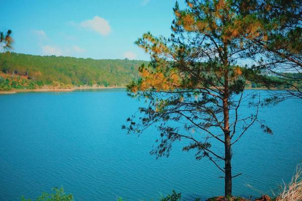Đôi mắt Pleiku, Biển Hồ đầy. (Nguồn: hangnga.do)