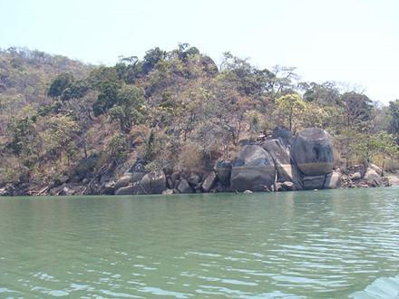 Đây là hồ chứa nước nhân tạo lớn nhất trên cao nguyên Trung phần. Ảnh: L.Đ.Dũng