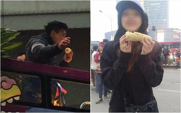 Có thật đây là bắp ngô mà Văn Thanh đang ăn dở không nhỉ?