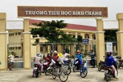 Trường tiểu học Bình Chánh/ Ảnh: Báo Lao động