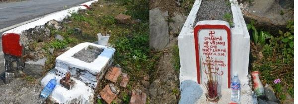 Dọc hai bên đường đèo, những ngôi mộ không có tên tuổi mọc thêm hàng năm