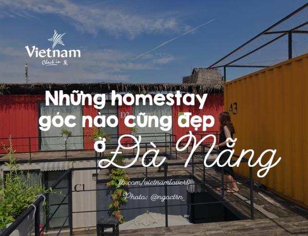 Những homestay đẹp không góc chết ở Đà Nẵng. (Nguồn: Checkin Vietnam)