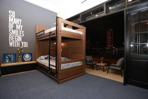 Không gian phòng ngủ của homestay. (Nguồn: Barney's Danang Backpackers Hostel)