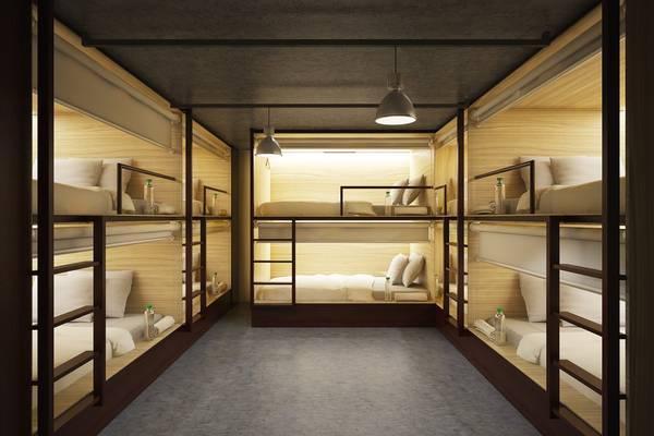 Không gian phòng ngủ thì lại rất sang trọng. (Nguồn: Like Backpacker Hostel)