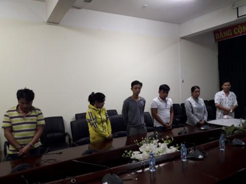 Các đối tượng bị bắt giữ, di lý về Cục Cảnh sát hình sự, Bộ Công an phía Nam