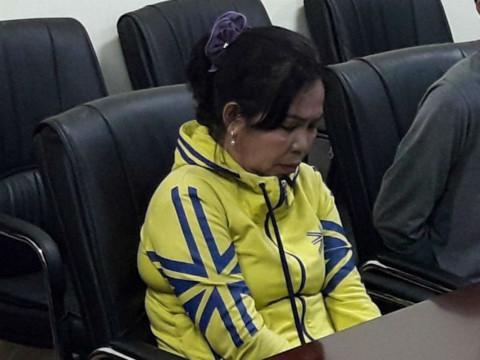 Nghi can Trần Kiều Trang, chủ mưu gây án và cũng là con của nạn nhân tử vong