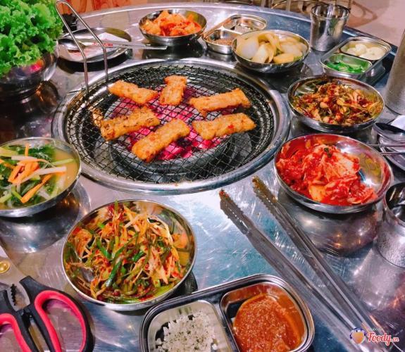Sam Won là quán đồ nướng mang phong cách Hàn Quốc