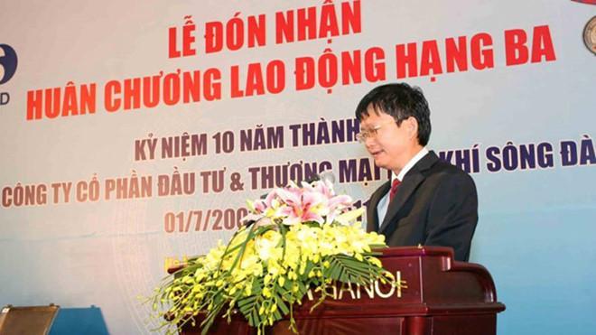 Ông Đinh Mạnh Thắng, em trai ông Đinh La Thăng. Ảnh: PVSD.VN.