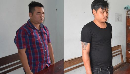 2 đối tượng cố ý gây thương tích bị khởi tố, bắt tạm giam (Ảnh: Công an Quảng Nam)