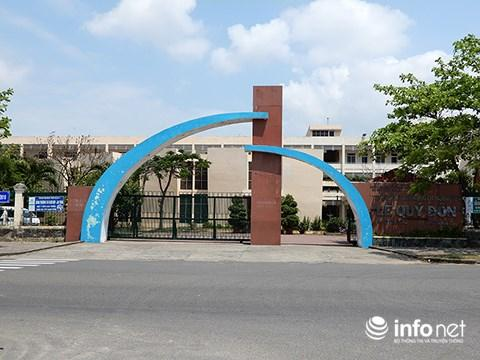 Trường THPT chuyên Lê Quý Đôn (Đà Nẵng) - Ảnh: HC